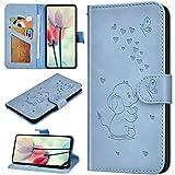 Robinsoni Custodia Compatibile con Huawei P20 Case Portafoglio Cover Libro Case Elefante S...