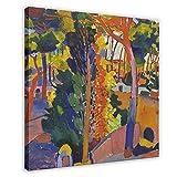 UYHF Pintura al óleo Andre Derain 5 Póster de lona para decoración de pared, cuadro para sala de estar, dormitorio, decoración marco: 70 x 70 cm