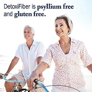 Garden of Life Detox Fiber Supplement - Organic DetoxiFiber, Gluten Free, 300g Powder