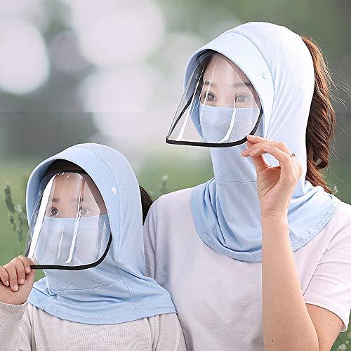 Casquette de pêche en plein air pour voyage parent-enfant vélo chapeau de soleil couverture protection du visage casquette de cou Protection UV chapeau de pêcheur adapté pour les enfants adultes cha