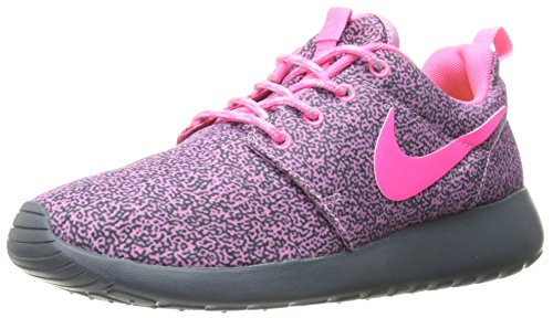 Nike Schuhe Rosherun Print Light Magenta-Hyper Pink-Dark Magenta Grey-Volt (599432-561) 37,5 Pink