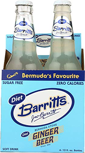 Barritts Soda Diet Ginger Beer, 48 fl oz