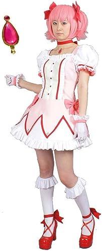 perfecto Magical Girl Madoka Magica Kaname Kaname Kaname Madoka magical girl clothes Talla L Soul Gem with nine points set (japan import)  el mejor servicio post-venta