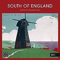 サウスオブイングランド ポスター アート 国立鉄道 博物館 スクエア ワイロ壁カレンダー 2021