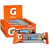 Gatorade Whey Protein Bars, Cookies & Crme, 2.8 oz bars (Pack of 12, 20g of protein per bar)