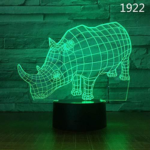 Nachtlampje Intelligent koe patroon LED kleurrijke kleur lamp draagbare touch control en afstandsbediening knop control nachtlampje tafellamp, cadeau voor vrouwen mannen jongeren nachtlamp