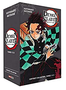 Demon Slayer Coffret Tomes 1 à 3