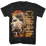 Kurt Cobain Coloured Side View T-Shirt schwarz XXL
