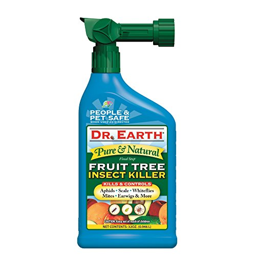 Dr. Earth 8009 Final Stop Fruit Tree Killer (32 oz.) Tree & Shrub Insect Control
