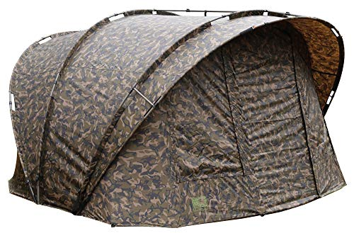 Fox R-Series XL 2 Man camo 315x330x185cm - Angelzelt zum Ansitzangeln auf Karpfen, Waller & Raubfische, Karpfenzelt, Zelt