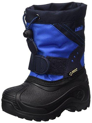 Kamik Unisex-Kinder Snowtraxg Schneestiefel, Blau