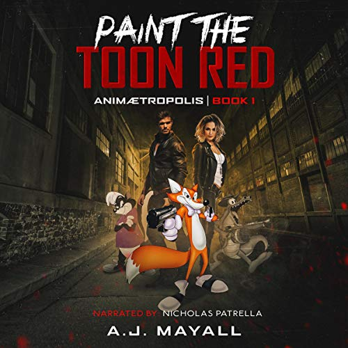 Paint the Toon Red audiobook cover art