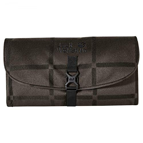 Jack Wolfskin Waschsalon Y.D. Washbag Brown Big Check 2019 Gepäckordnung