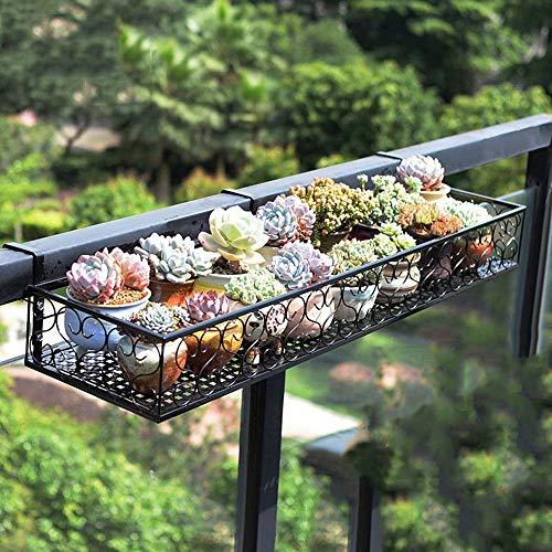 LUCKY-Blumenregal Blumenständer, hängen schmiedeeisernen Zaun blumentopf Rack, Zimmer eingebaut Rack, pflanzenständer, Outdoor blumenständer, Balkon/Wohnzimmer/Topf Rack/dekorative Rahmen
