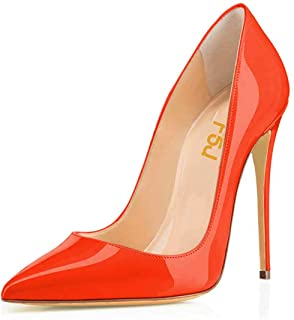 b0570e920bafd Amazon.com: stilettos - Orange / Shoes / Women: Clothing, Shoes ...