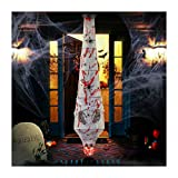 Life Size Animated Spider Cocoon Peeper Mummy Halloween Prop Haunted Decor Yard | Save Now Shop Now