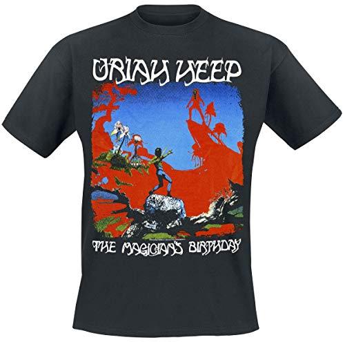 Uriah Heep The Magician's Birthday Camiseta Negro S