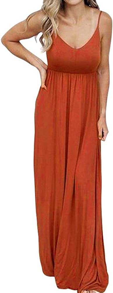 PALINDA Women's Sleeveless Summer V Strap Neck Spaghetti Direct stock discount Casual New sales