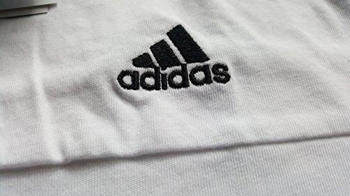 adidas ESS 3S Climalite Sports Shirt Size 12 / M White