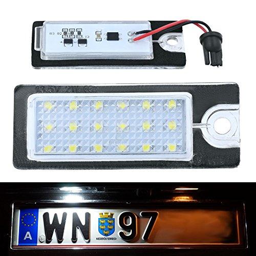 DoLED M05 LED Kennzeichenbeleuchtung mit E-Prüfzeichen Xenon Optik