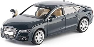 modelcars 1:32 Scale Audi A7 Metal Diecast Model Car Toy Collection Sound&Light Blue Gift