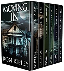 Moving In Series Box Set Books 1 - 6: Supernatural Horror with Scary Ghosts & Haunted Houses by [Ron Ripley, Scare Street, Emma Salam]