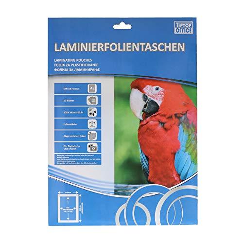TTO lamineerfolie A4 80 μm, helder