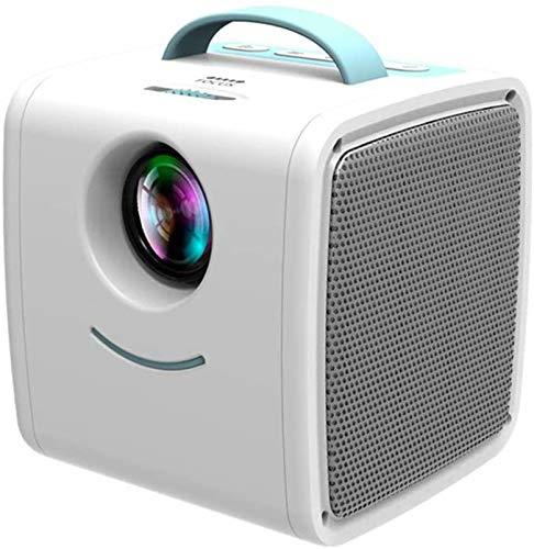 Regalo padre-hijo mini proyector de 30 lúmenes habitaciones de niños Educación proyector portátil Mini LED TV Inicio Beamer