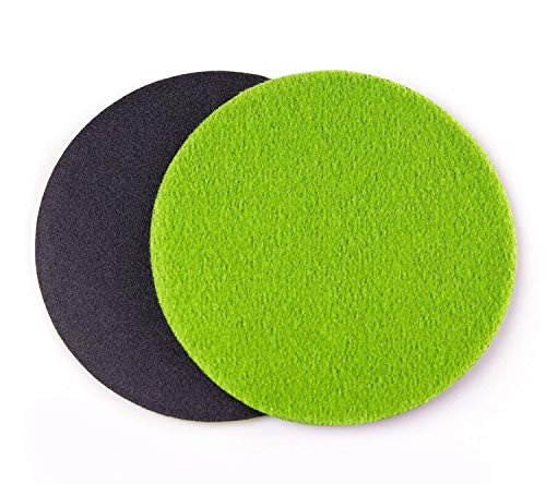 GP13603 GP-PRO100 Medium Grade Sanding Disc for Glass, Silicon Carbide Abrasive Disc / P320 / Ø 6 inch/Pack of 10 Discs