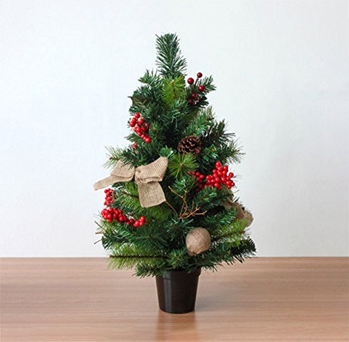 Why Choose LAOHAO Christmas Tree Decoration Christmas Rattan Ornament Mini Christmas Tree Table Deco...