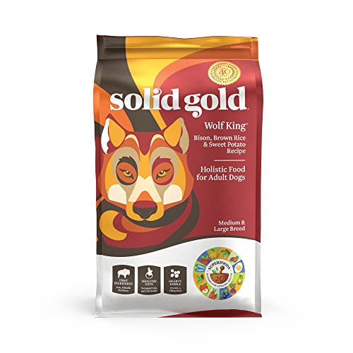 Solid Gold - Wolf King Bison and Brown Rice...