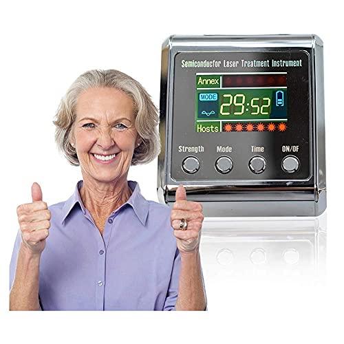 KELITINAus Reloj de Pulsera de Dispositivo de Terapia, Instrumento de Tratamiento de Semiconductores, Equipo de Fisioterapia de Congestión Nasal, Nariz Tapada Reducir la Hipertensión Hyperglycemia Hy
