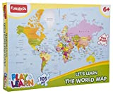 Best Puzzles - Funskool-Play & Learn World Map Puzzles Review