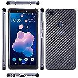 WEIFA HTC Desire 12Plus Case, Very Light Slim Twill Carben