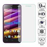 Guran® Displayschutz Glasfolie für Wiko Jimmy Smartphone Screen Bildschirm Hartglas Schutzfolie Film