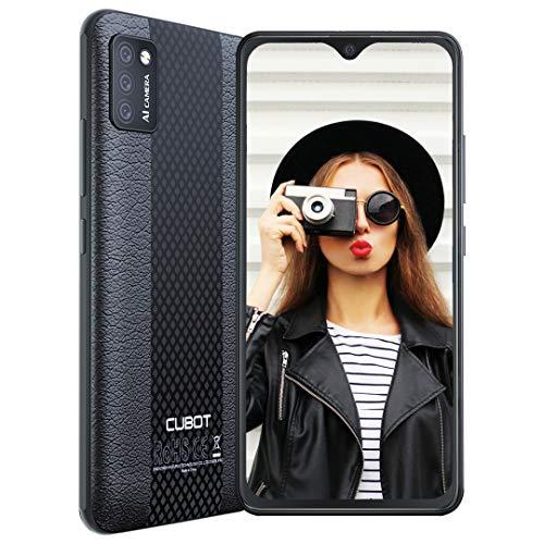 CUBOT Note 7 Smartphone ohne Vertrag Android 10, 5,5 Zoll HD+ Display 2GB + 16GB Speicher 128 GB Erweiterbar Handy 3100mAh Akku DREI Kameras 13MP + 8MP 4G Dual SIM Face ID GPS