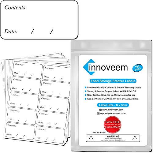 Innoveem Freezer Labels Easy Pee...