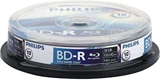 Philips Blu-Ray Recordable 25 GB 6X SP (10 Spindle)