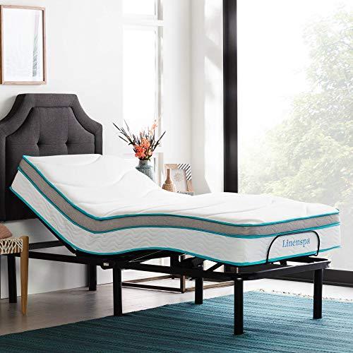 LINENSPA Adjustable Bed Base -...