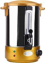 Dubbellaagse Elektrische Wateremmer, Roestvrijstalen Dubbellaagse Isolatieemmer Met Kraan, 30~110 ℃ Temperatuur Kan Worden...