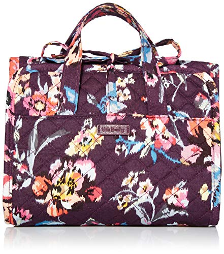 Vera Bradley Signature Cotton Compact Hanging Travel Organizer, Indiana Rose