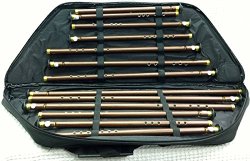 Türkische Woodwind Kunststoff Ney Set 13pcs: nein Flöte