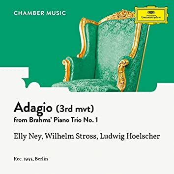 Brahms: Piano Trio No. 1 In B, Op. 8: III. Adagio