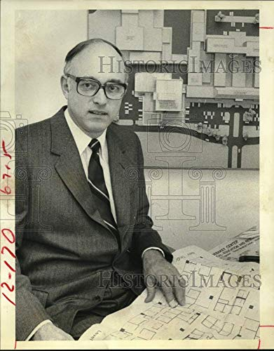 Historic Images -1979 Press Photo Dr William Butler, Baylor College of Medicine President, Texas