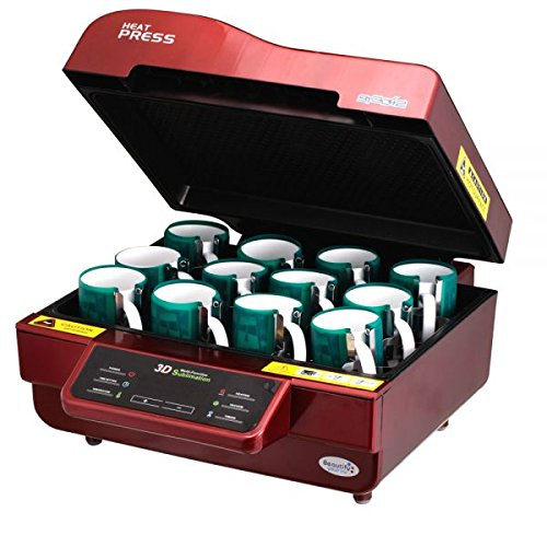 3D Vaccum Sublimation Heat Press Machine for Mugs, 220V