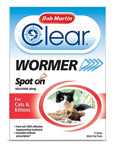 Bob Martin - Desparasitante efectivo para gatos y gatitos, tratamiento vermicida