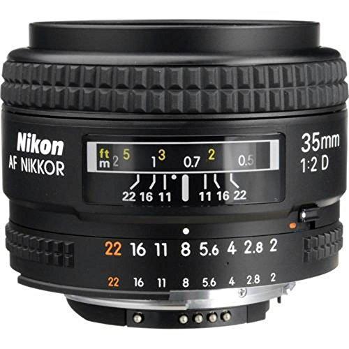 Nikon AF Nikkor 35 mm/2,0 D Objektiv (52mm Filtergewinde)