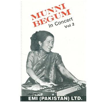 Munni Begum In Concert Vol. 2