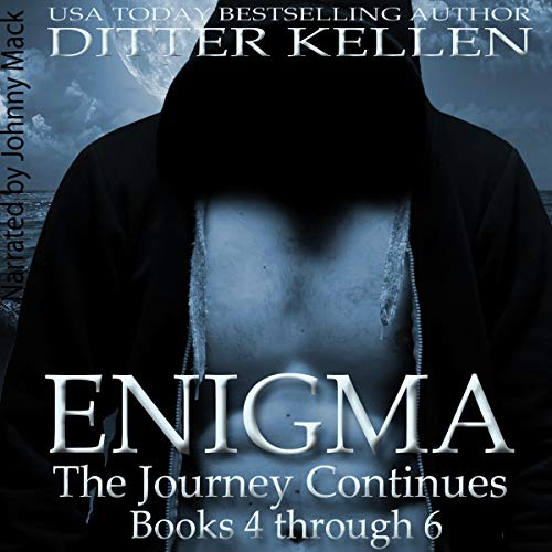 Enigma: The Journey Continues     A Science Fiction Romance Boxed Set              By:                                                                                                                                 Ditter Kellen                               Narrated by:                                                                                                                                 Johnny Mack                      Length: 13 hrs and 29 mins     5 ratings     Overall 5.0