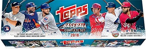 Sports Memorabilia 2018 Topps Baseball Retail Edition Complete 705 Card Factory Set - Baseball Complete Sets